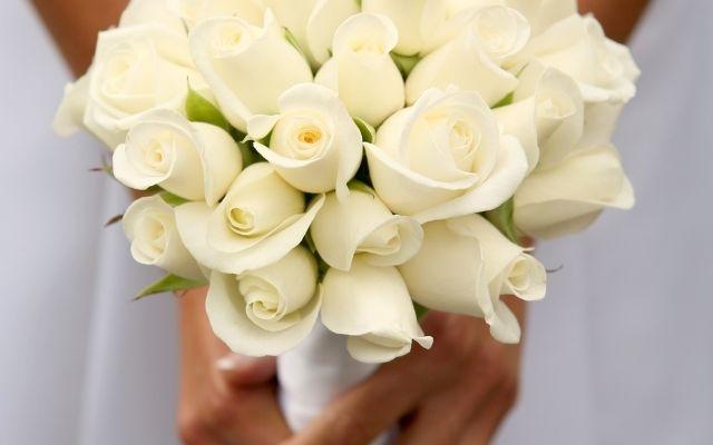 白バラの待ち受けで彼に愛される
